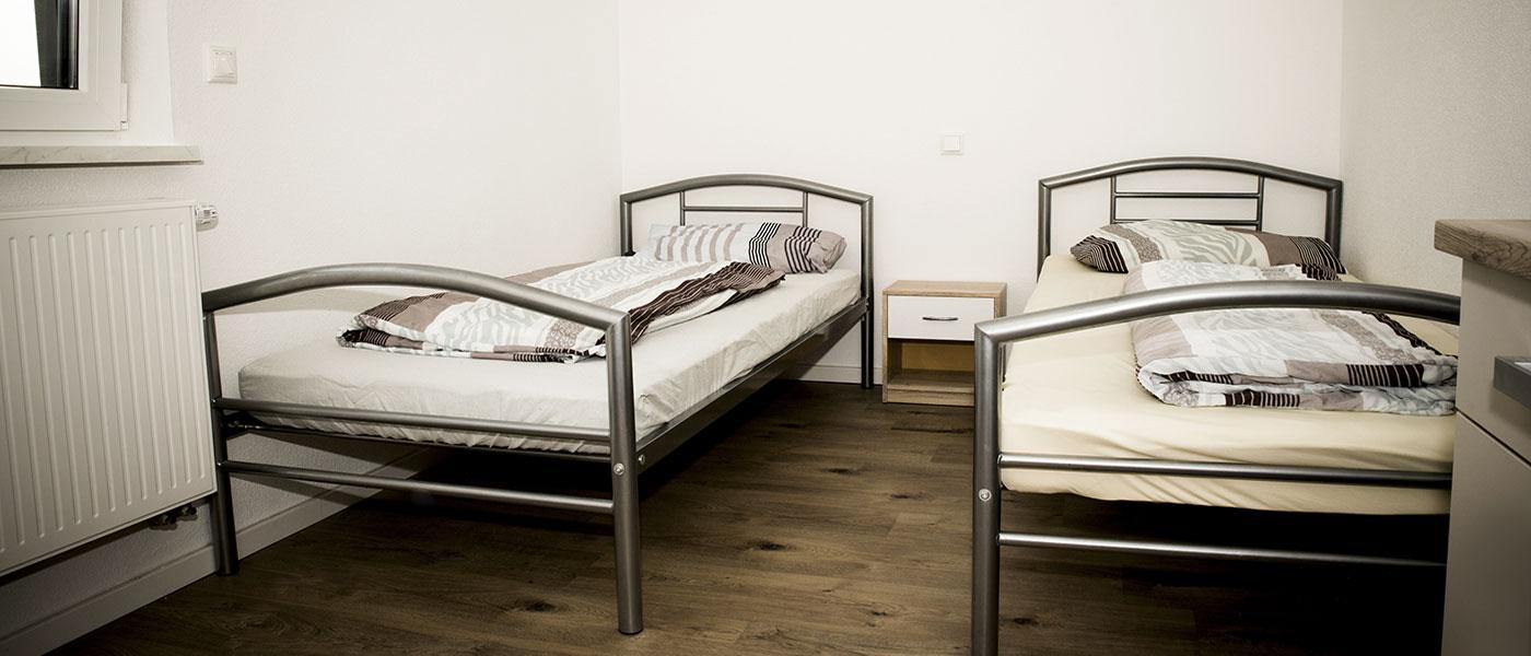 Wohnheim-Schlafzimmer