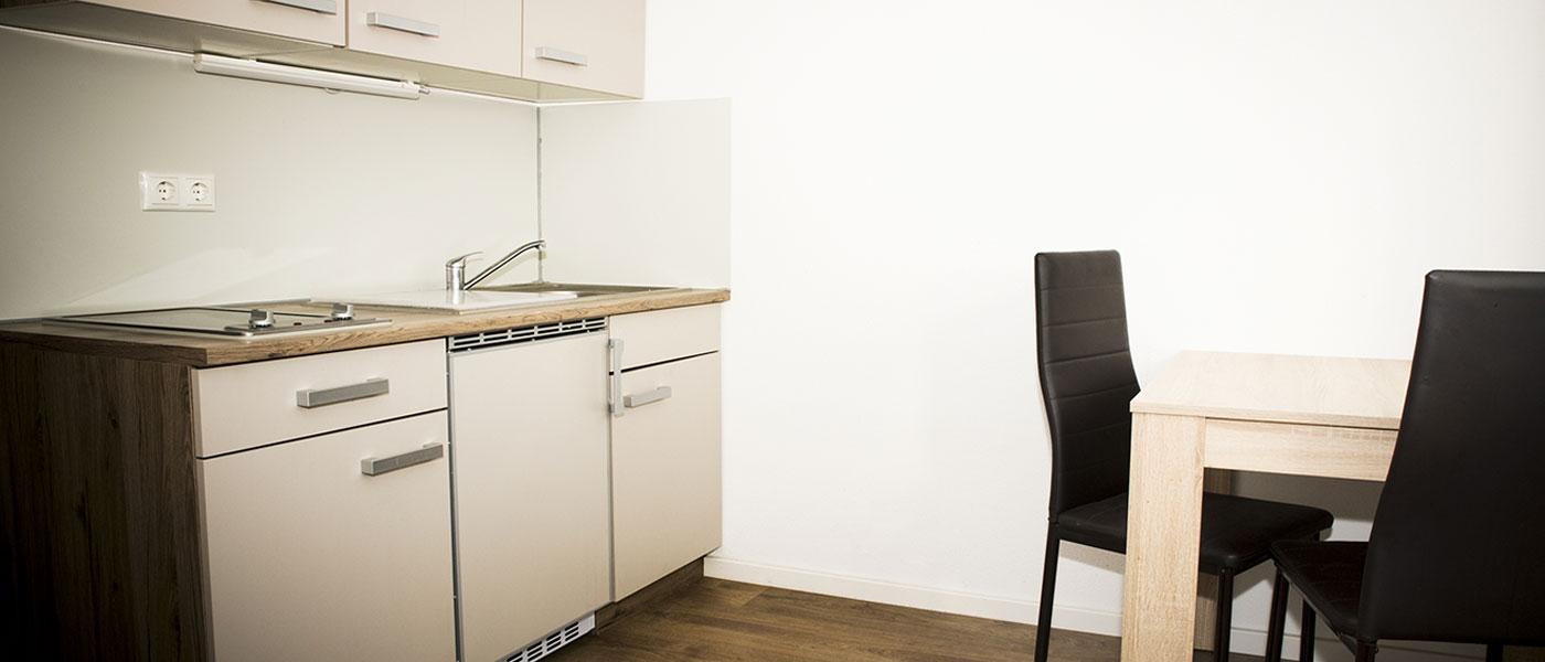 Wohnheim-Küche